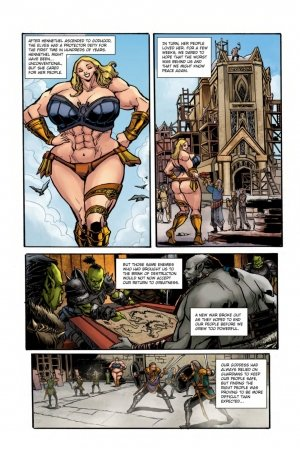 Rise of the Guardian – Muscle Fan - Page 3