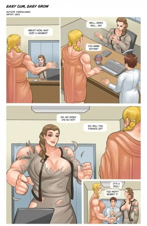 Rise of the Guardian – Muscle Fan - Page 15