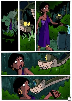 The Jungle Book- Kaa and Shanti