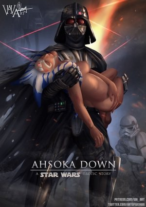 Ahsoka Down – Star Wars- WH Art