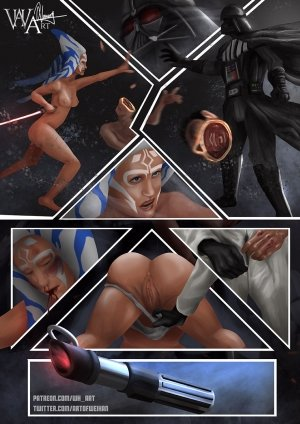Ahsoka Down – Star Wars- WH Art - Page 4