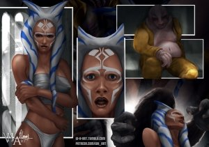 Ahsoka Down – Star Wars- WH Art - Page 21