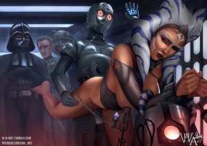 Ahsoka Down – Star Wars- WH Art - Page 28