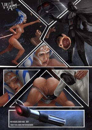 Ahsoka Down – Star Wars- WH Art - Page 35
