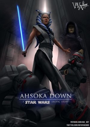 Ahsoka Down – Star Wars- WH Art - Page 56