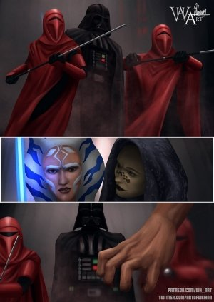 Ahsoka Down – Star Wars- WH Art - Page 58