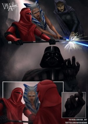 Ahsoka Down – Star Wars- WH Art - Page 61