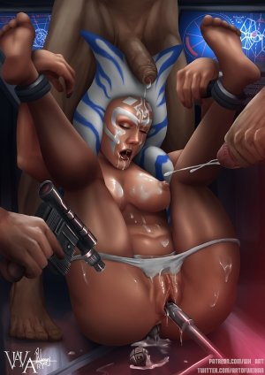 Ahsoka Down – Star Wars- WH Art - Page 91