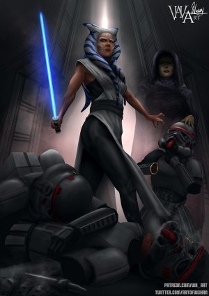 Ahsoka Down – Star Wars- WH Art - Page 94