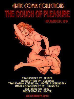 Couch of Pleasure # 9 – Erotic Comix