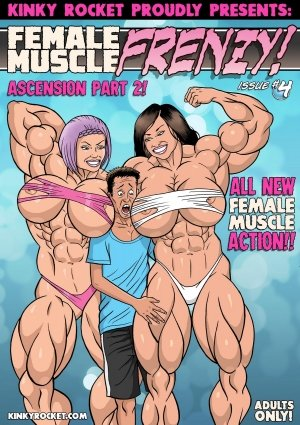 Female Muscle Frenzy Issue #4- Kinky Rocket