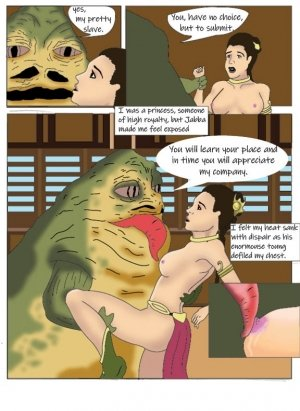The Slave Concubine- Lewdistrator (Star Wars) - Page 2
