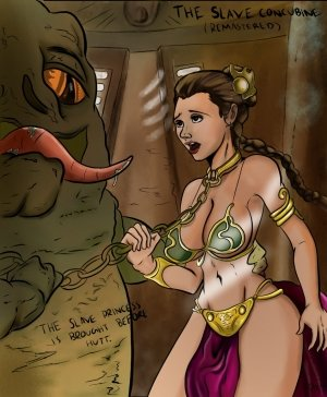 The Slave Concubine- Lewdistrator (Star Wars) - Page 11