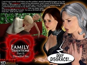Family Traditions. Part 2- Incest3DChronicles