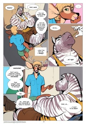 Falcon McCooper- The Big Freshman - Page 19