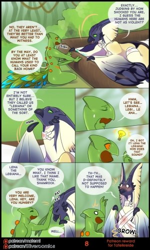 Lena and Shamrock's Love Night - Page 8