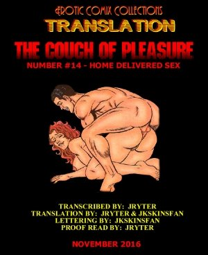Couch of Pleasure # 14 – Home Delivery Sex (Erotic)