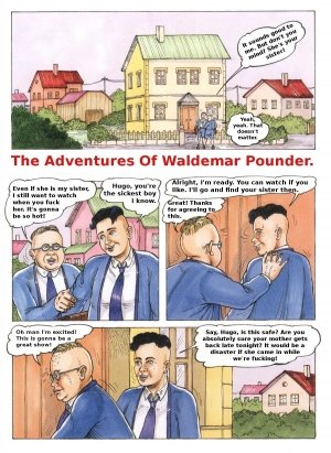 The Adventures of Waldemar Pounder by Kurt Marasotti