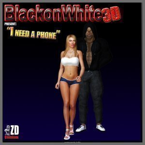 I Need A Phone- Blacknwhite