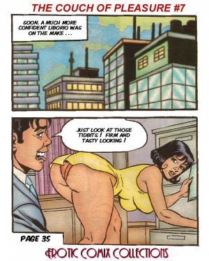 Hot Blood No.7 – Couch of Pleasure (Erotic Comix) - Page 37