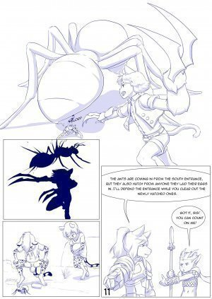 Furry Fantasy XIV Chapter 4 - Page 13