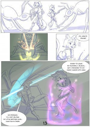 Furry Fantasy XIV Chapter 4 - Page 15