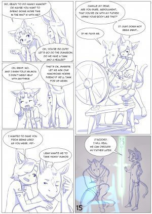 Furry Fantasy XIV Chapter 4 - Page 17