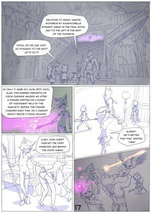 Furry Fantasy XIV Chapter 4 - Page 19