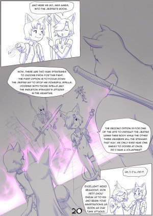 Furry Fantasy XIV Chapter 4 - Page 22