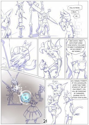 Furry Fantasy XIV Chapter 4 - Page 23