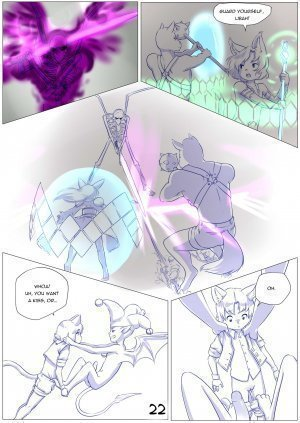 Furry Fantasy XIV Chapter 4 - Page 24