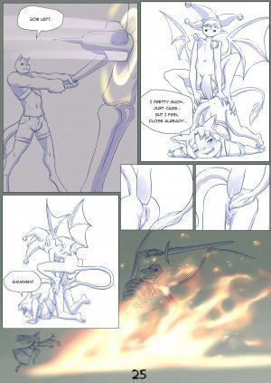 Furry Fantasy XIV Chapter 4 - Page 27
