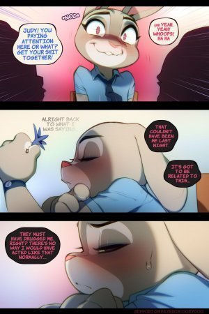 Sweet Sting 02 – Down The Rabbit Hole parody Zootopia [Doxy] - Page 6