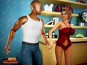 Interracial 3D porno Comics