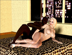 Jenna's Black Dick Riding- BNW 3D - Page 27