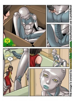 The Robot- Innocent Dickgirls - Page 5