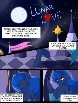 Lunar love (My little pony)