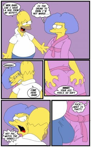 Selma's Struggle- The Simpsons - Page 3