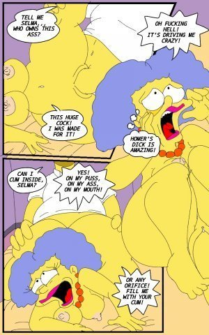 Selma's Struggle- The Simpsons - Page 9