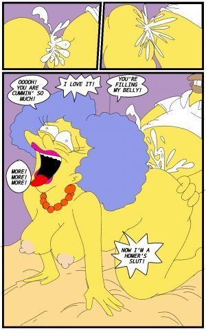 Selma's Struggle- The Simpsons - Page 10