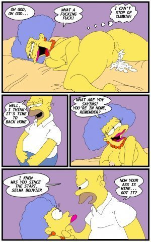 Selma's Struggle- The Simpsons - Page 11