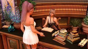 Lustful Desires – The Librarian- Naama