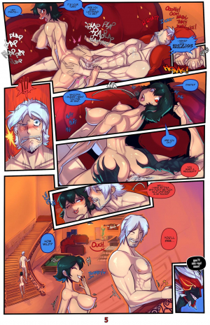 Devil May Fuck – Dante X Lady – Sex & Gambling - Page 5