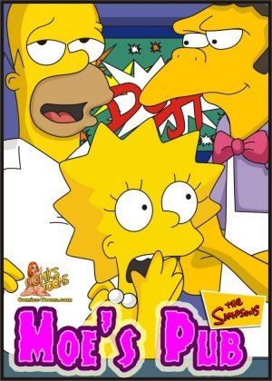 Moes Pub- The Simpsons