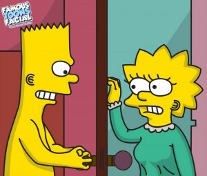 The Simpsons – Bart and Lisa [Famous Toons Facial]