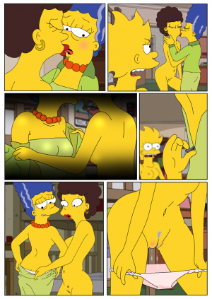 Marge and Lisa Simpsons go Lesbian – The Simpsons - Page 4