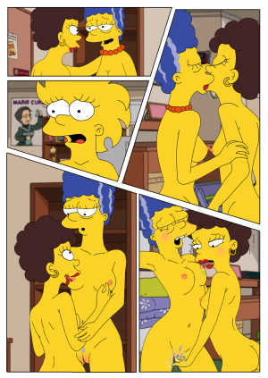 Marge and Lisa Simpsons go Lesbian – The Simpsons - Page 5