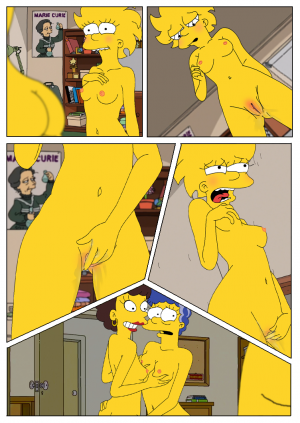 Marge and Lisa Simpsons go Lesbian – The Simpsons - Page 6