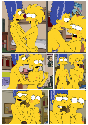 Marge and Lisa Simpsons go Lesbian – The Simpsons - Page 8