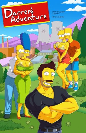 Darrens Adventure or Welcome To Springfield – The Simpsons